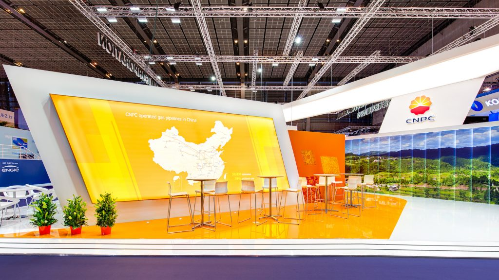 <h2>CNPC</h2> <br> <p>We take great pride in this 494 sqm stand at the World Gas Conference in Paris.</p>